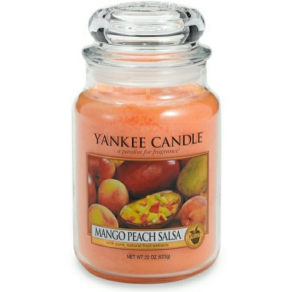 Yankee Candle Other - Yankee Candle Large Jar Mango Peach Salsa 22 oz.